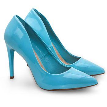 8d06a4a9a3 Azul Femininos Sapatos Azul em em Sapatos YxdTUU1