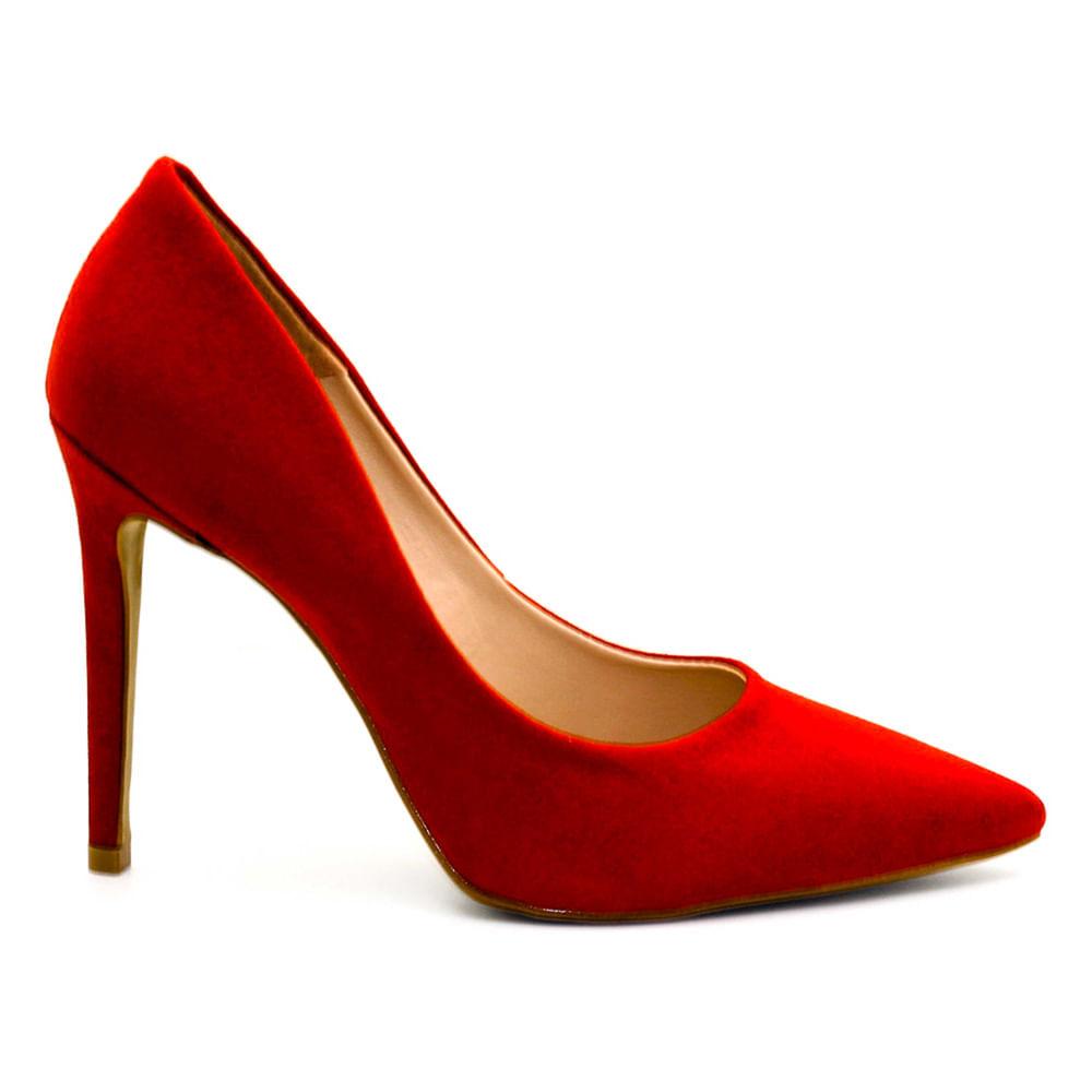 2ef3b01108 Sapatos Saltare Anita Vermelho - Calçados Femininos Saltare