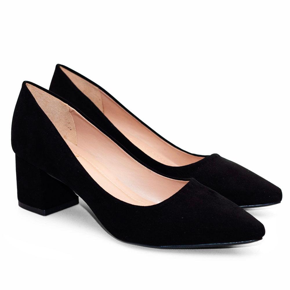 b8c94fe4a5 Sapatos Saltare Balsamo Su Preto - Calçados Femininos Saltare