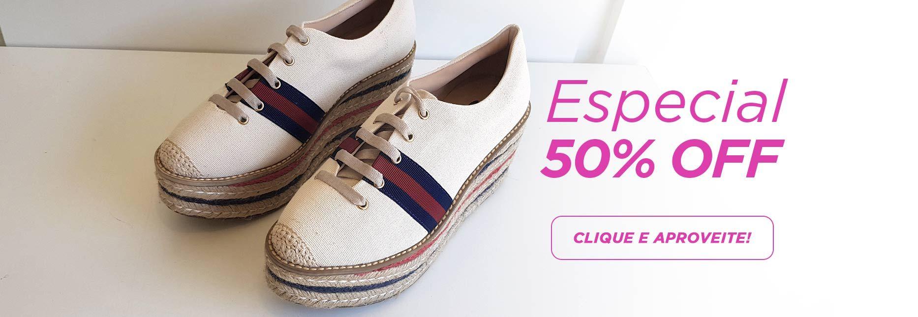 especial 50%off