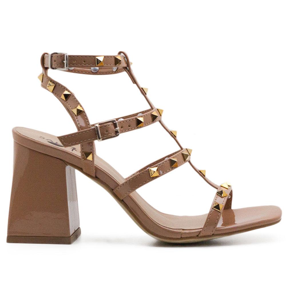 Sandalias Saltare Iza Onça - Calçados Femininos Saltare