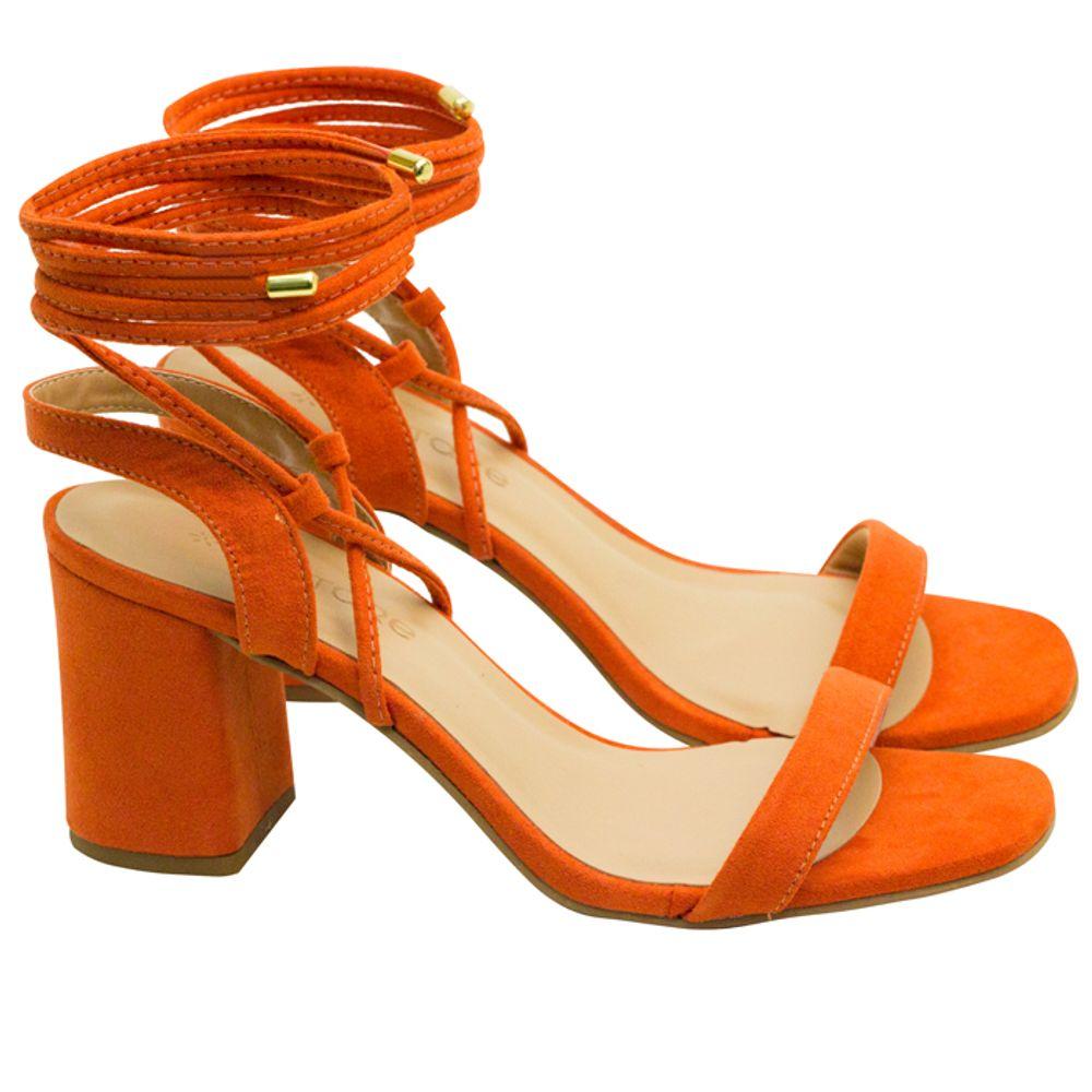 Sandalias Saltare Mona Geo Porcelana - Calçados Femininos