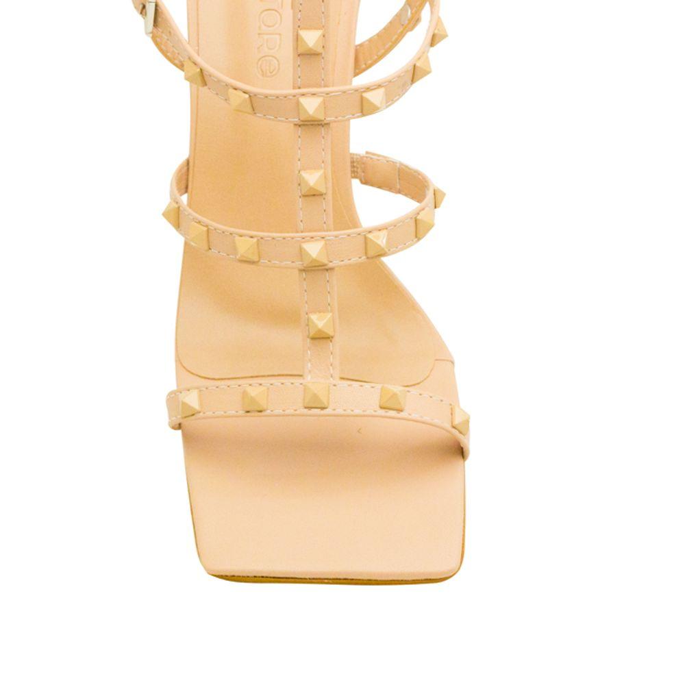 Sandalias Saltare Marcy Off - White - Calçados Femininos